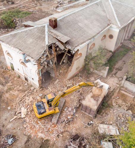 demolition bethune
